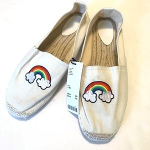 Urban Outfitters Espadrilles Men's Size 11 Rainbow